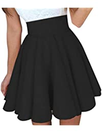 Ba Zha Hei röcke Frauen Party Cocktail Minirock Damen Sommer Skater Rock  Mini Rock Schulmädchen Skirt Damen Kurz Minirock Röcke Frauen… 4c6cbbd466