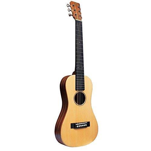 SX trav 1Viajar Guitarra Portátil con Bolsa