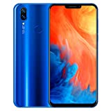 Smartphone 6,1 Zoll Ultradünne Android 6.0 Quad-Core 1 GB + 8 GB + Zusätzliche 32 GB Karte GSM WiFi Dual SIM 8.0MP Smart Cellphone (Blau)