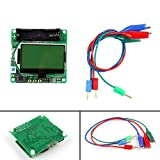 Fansport 3.7V Inductor Capacitor ESR Meter MG328 MultifuncióN Transistor Tester