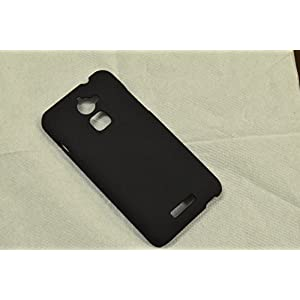 TREECASE Rubberised Matte Hard Case Back Cover For COOLPAD NOTE 3 LITE (5.0 inch) - Royale Black