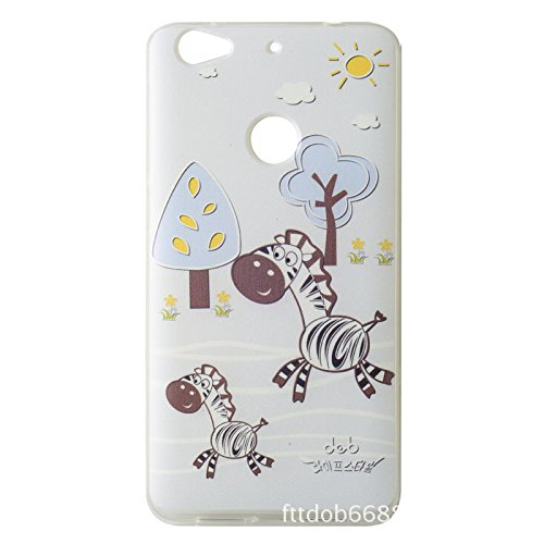 Generic LE222 Letv 1S phone shell protective cartoon thin soft case cover