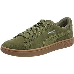 Puma Smash v2, Unisex-Erwachsene Sneaker, Grün (Capulet Olive-Capulet Olive), 44 EU