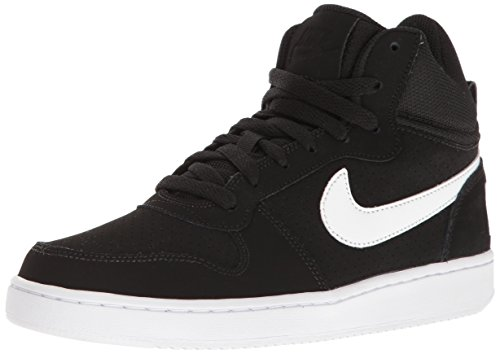 Nike Damen Wmns Court Borough Mid Sportschuhe-Basketball, Schwarz (Black/White), 40 EU