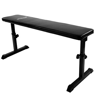 Physionics Flat Weight Bench Adjustable Fitness Gym Exercise Training from Physionics®