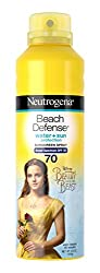 Neutrogena Beauty and the Beast Beach Defense Spray Sun-Screen Broad Spectrum SPF 70