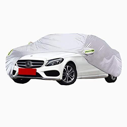POLKMN Autoabdeckung, Limousine Fahrzeugabdeckung Indoor Outdoor Wasserdicht Regenfest UV-Schutz Dickes Oxford-Tuch (Size : C200)