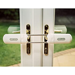 Patlock Heavy Duty French Double Door Security Bolt Home Lock As Seen On TV