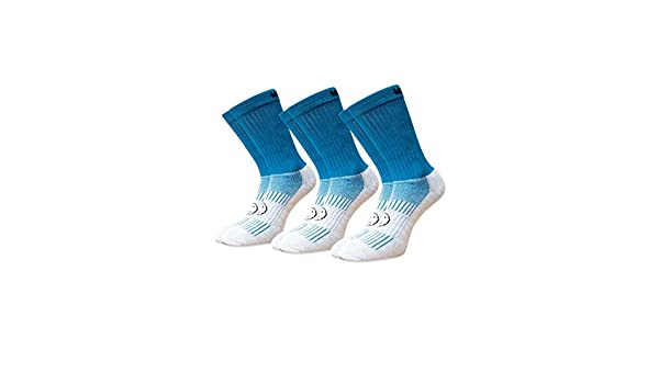 Wacky Sox Tre coppie Supersaver sport calzini turchese