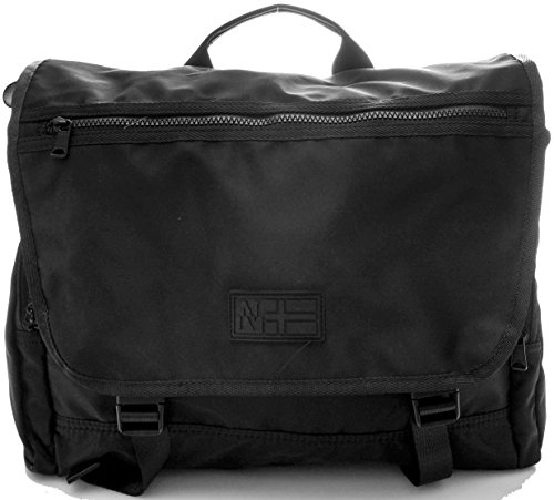 Borsa Messenger Porta Laptop Pc Uomo Donna NAPAPIJRI Bag Men Woman N6P02 black