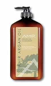Amir Argan Oil Body Moisturizer Lotion 18 fl.oz - (Mega Size) with Acai Berry extract.