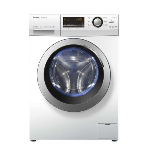 Haier HW70-B12636 lavatrice Libera installazione Caricamento frontale Bianco 7 kg 1200 Giri/min A+++-40%