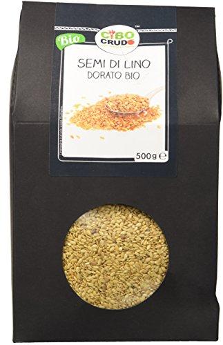 Cibocrudo Semi di Lino Dorato -  500 gr