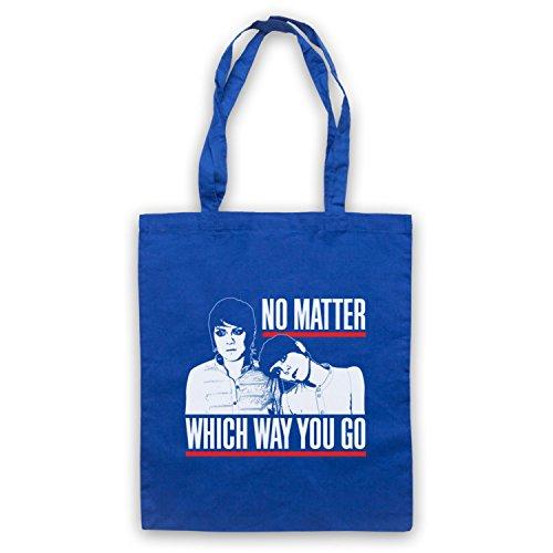 Inspiriert durch Tegan & Sara I Was Walking With A Ghost Inoffiziell Umhangetaschen Blau