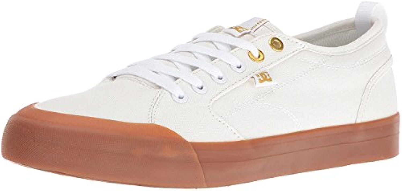 DC Men'S Evan Smith TX Skate Shoe, Off White/Gum, 47 D(M) EU/12 D(M) UK