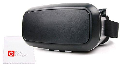 DURAGADGET Gafas de Realidad Virtual VR ajustables para Smarphone Samsung Galaxy S7 Edge/S7/A9/J3/J5/J7