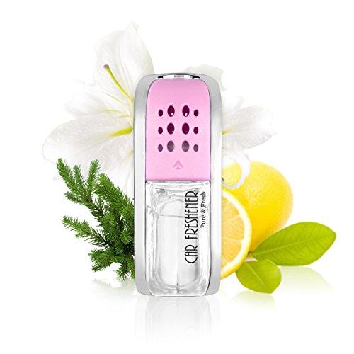 L & J Ambientador de Coche, Aceite Original de Perfume francés Fabricado por Mane, Fragancia de Coche, Enchufe de Fragancia para Parrilla de ventilación de vehículo, 5 ML, C-103 (Fragancia Ligera)