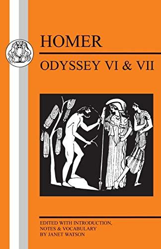 Homer: Odyssey Vi and Vii (Bristol Classical Press Greek Texts)