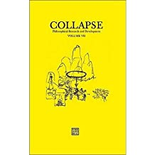 [(Collapse: Philosophical Research and Development: Culinary Materialism Volume VII)] [Author: Reza Negarestani] published on (November, 2011)