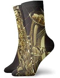 gthytjhv Socks Golden Sax Soccer Socks Sport High Stockings Comfortable For  Men Women e5e252c2e49