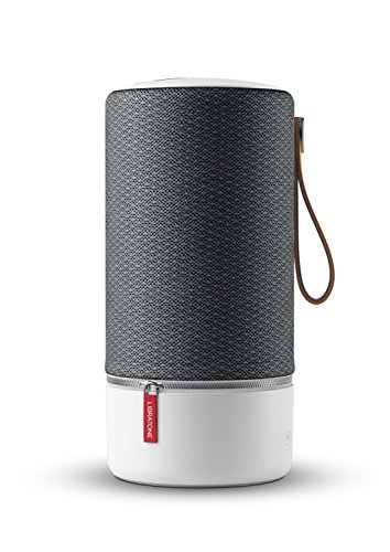 Libratone ZIPP Wireless Lautsprecher (360° Sound, Wlan, Bluetooth, MultiRoom, Airplay 2, Spotify Connect, 10 Std. Akku) graphite grey