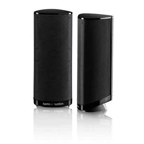 41KzH9tRQpL. SS500  - Harman-Kardon HKS 4BQ 2-way audio surround sound speakers home theater speaker system supplement speaker glossy - Black