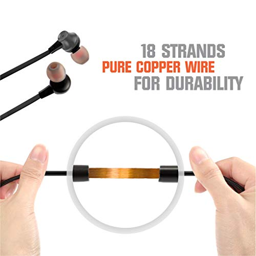 Envent Beatz 307 Ear Headphone with Mic (Metallic Grey)