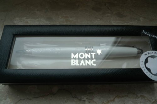 Montblanc Drehkugelschreiber Meisterstück Solitaire Metall Tribute to the Mont Blanc