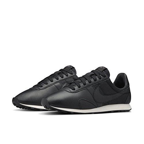 Nike - W Pre Montreal Racer Pinnacle, Scarpe sportive Donna Nero/nero-bianco-grigio (Black/Black-Sail-Dark Grey)