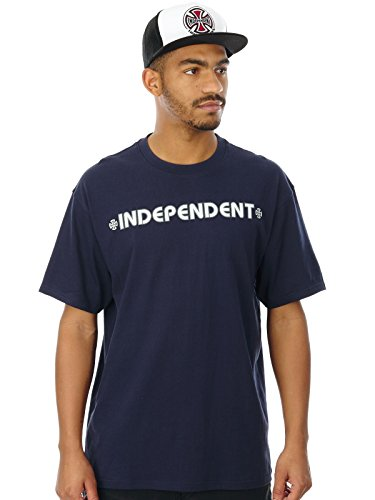 Independent T-Shirt Bar Cross Dunkelblau Dunkelblau