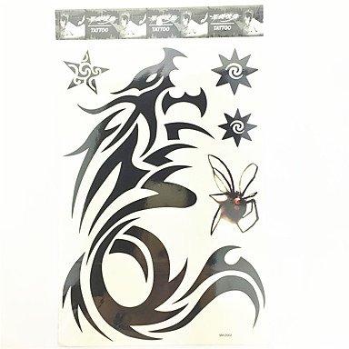 Imperméable Drogon Modèle de tatouage temporaire