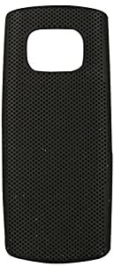 Videotronix Dot Hard Back Case Cover for Nokia X1-01 (Black)