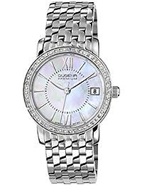 Dugena Damen-Armbanduhr Rondo Petit Stone - Traditional Classic Analog Quarz Edelstahl 7590138