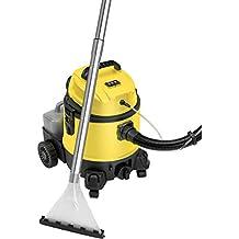 Lava-aspiradora con limpiador de tapiceria para coche, alfombras, colchones, aspiradora industrial