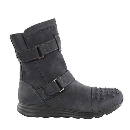 Matchless Herren Leder Stiefel ICON IBRID Rocker Boot Antique Black 141044 Größe ()