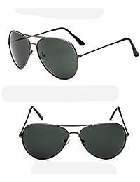 ZHANG Lunettes de soleil rétro classiques lunettes de soleil cadre métallique lunettes de soleil lunettes de vision nocturne porno, a1