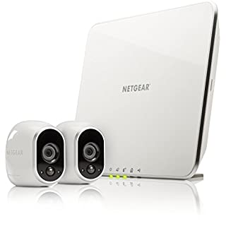 Netgear Arlo VMS3230-100EUS Smart Home 2 HD-Überwachung Kamera-Sicherheitssystem (100% Kabellos, Indoor/Outdoor, Bewegungssensor, Nachtsicht) weiß