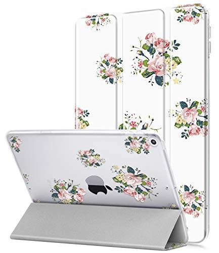 Dailylux Hülle für iPad Mini 5,Ultra Dünnes Romantische Blase Cover mit Abdeckung Schlafen/Wachen,Kratzfeste Schutzhülle für iPad Mini 5 7.9 Zoll-Blume