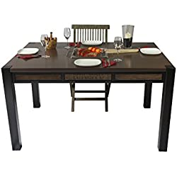 """'Grill da tavolo """"Oblong con griglia in acciaio inox e copertura–magnetica integrata nella barbecue a carbonella come beim Raclette o fondue, con Delizie o la famiglia"""
