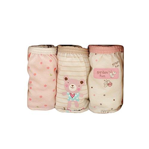 ic Cotton Children Fashion Underwear Unterwäsche Baby Boys/Girls Cute Car Autotoon Girl Baby Bee #60: Age for 1-3 Years (100cm) ()