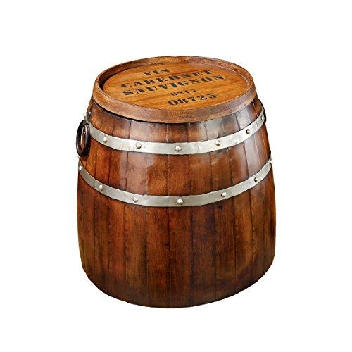 Diseo-de-Toscano-MH30119-vino-francs-barril-mesa-auxiliar-Multi-color