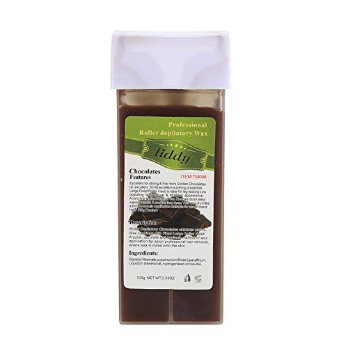 Zantec Cera Depilazione Professional Usa cera depilatoria solubile in acqua con ceralacca Ceretta con buon odore – 100g / 3.53oz 100g Aloe Vera - 2