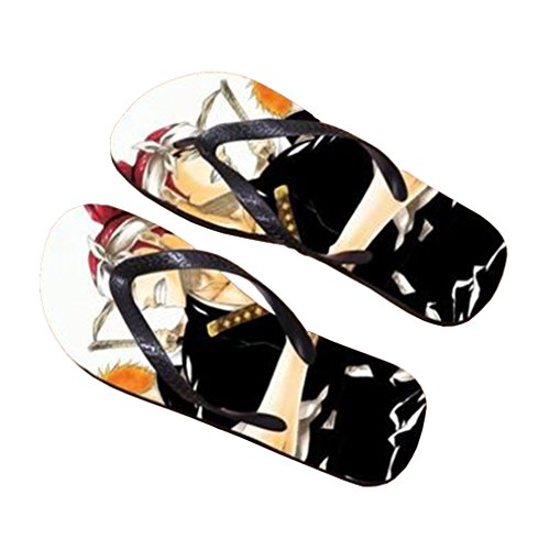 Bromeo Bleach Anime Unisex Flip Flops Zehentrenner Flip Pantoffeln 266