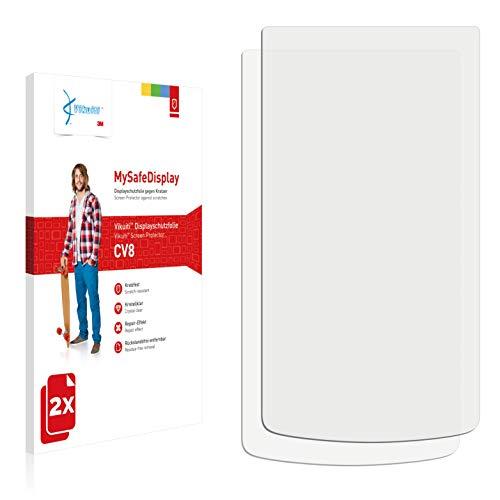 Vikuiti 2X Bildschirmschutzfolie CV8 von 3M kompatibel mit Oppo N1 Mini Schutzfolie Folie