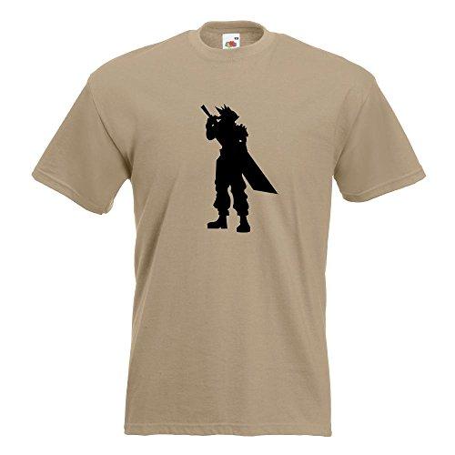 KIWISTAR - RPG Hero T-Shirt in 15 verschiedenen Farben - Herren Funshirt bedruckt Design Sprüche Spruch Motive Oberteil Baumwolle Print Größe S M L XL XXL Khaki