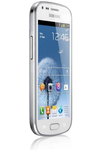 "Samsung Galaxy Trend GT-S7560 Smartphone Ecran tactile 4"" (10,2 cm) Android 4.0.4 Ice Cream Sandwich Bluetooth Wi-Fi Blanc - 3"