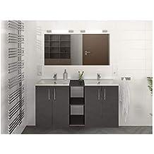 Amazon Fr Meuble Salle Bain Double Vasque Design
