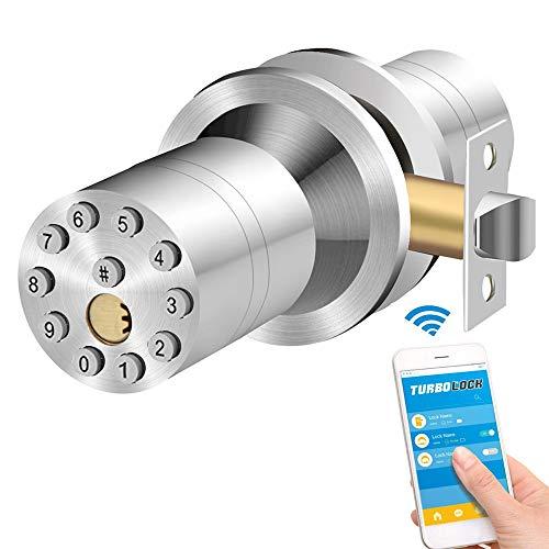 Cerradura inteligente Sin llave Cerraduras de puerta Bloqueo electrón