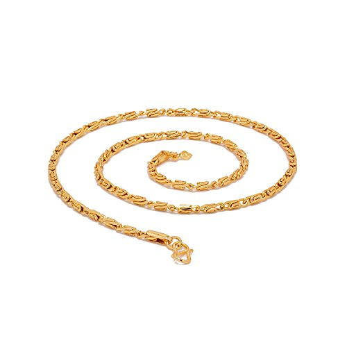 Voylla Gold Plated Chain for Men (8907275752868)
