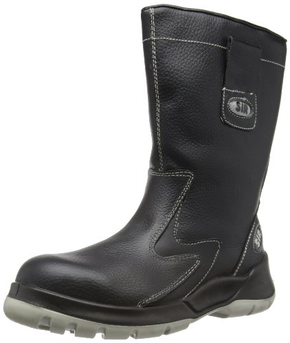 SIR Safety - Stivali Plus Boot, Unisex adulto, Colore Nero (Black), 7 UK(41 EU)